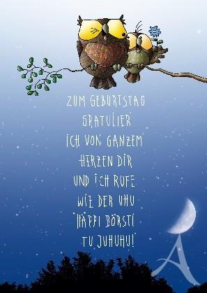"""Postkarte """"Zum Geburtstag..."""""""