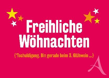 """Postkarte """"Freihliche Wöhnachten"""""""
