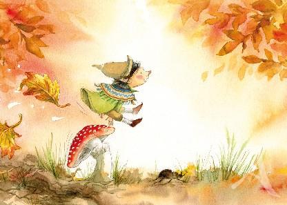 """Postkarte """"Herbst"""""""