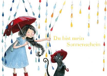 """Postkarte """"Du bist mein Sonnenschein"""""""