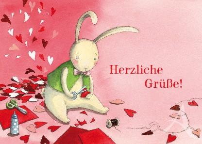 """Postkarte """"Herzliche Grüße!"""""""