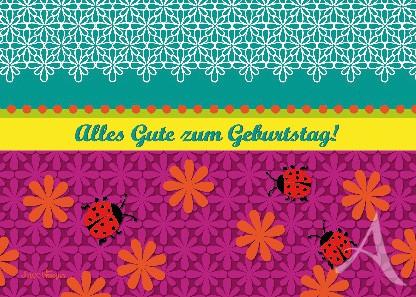 """Postkarte """"Alles Gute zum Geburtstag!"""""""