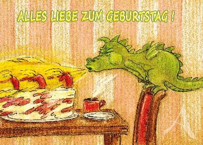 """Postkarte """"Alles Liebe zum Geburtstag!"""""""