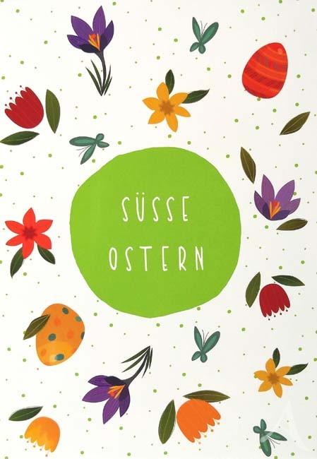 """Postkarte """"Süße Ostern"""""""