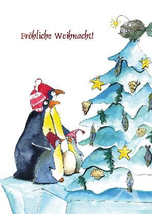 """Postkarte """"Fröhliche Weihnacht!"""""""
