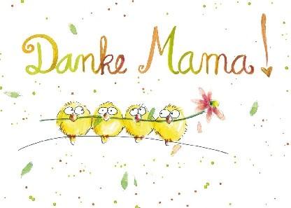 """Postkarte """"Danke Mama!"""""""