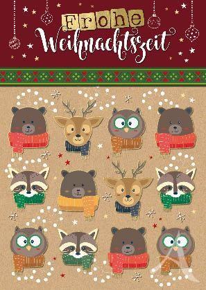 """Postkarte """"Frohe Weihnachtszeit"""""""