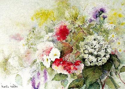 """Postkarte """"Heimische Wildblumen"""""""
