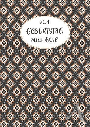 """Postkarte """"Zum Geburtstag alles Gute"""""""