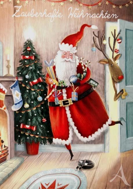 """Postkarte """"Zauberhafte Weihnachten"""""""