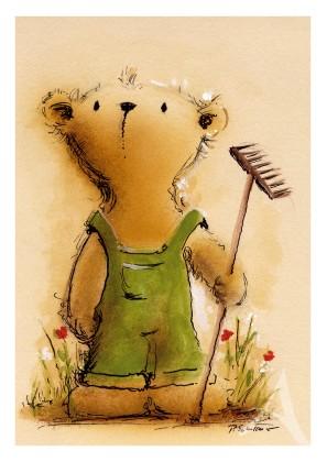 """Postkarte """"Der Gartenfreund"""""""