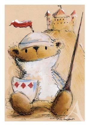 """Postkarte """"Ritter Kunibert"""""""