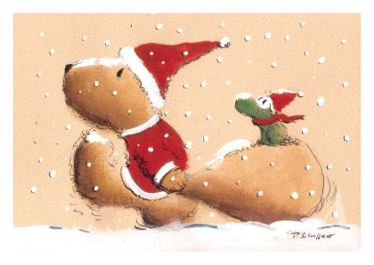 """Postkarte """"Frohe Weihnachten!"""""""