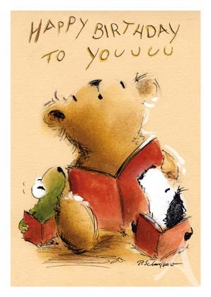 "Postkarte ""Happy Birthday to you"""