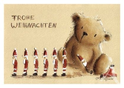 "Postkarte ""Nikolausparade"""