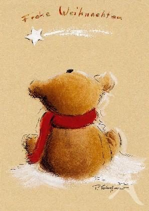 """Postkarte """"Der Weihnachtsstern"""""""