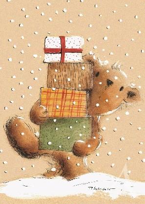 """Postkarte """"Geschenke für Dich"""""""