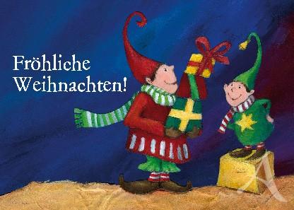"""Postkarte """"Fröhliche Weihnachten!"""""""