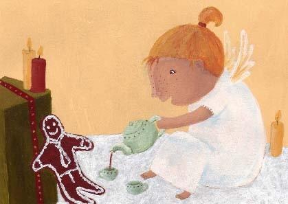 """Postkarte """"Gemütliche Weihnachtszeit"""""""