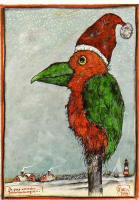 """Postkarte """"Ein ganz normaler Dezembermorgen"""""""