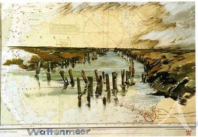 "Postkarte ""Wattenmeer"""