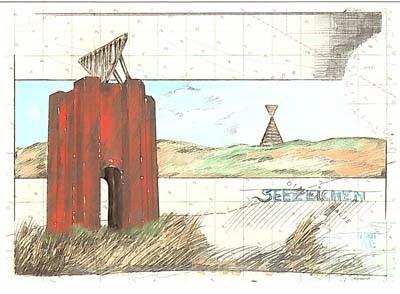 """Postkarte """"Seezeichen"""""""