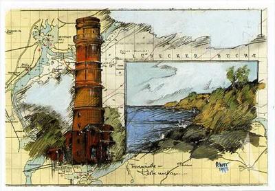 """Postkarte """"Travemünde - Küste und so..."""""""