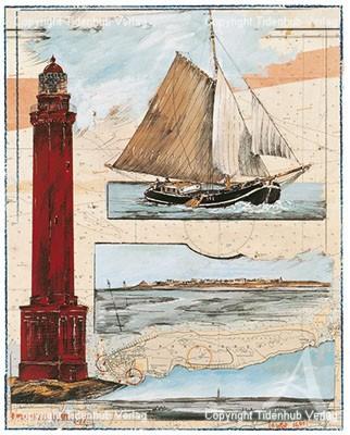 """Postkarte """"Norderneyer Blatt"""""""