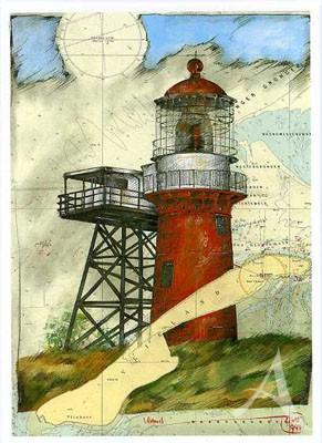 """Postkarte """"Vlieland"""""""