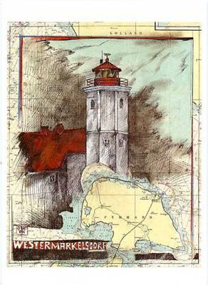 "Postkarte ""Fehmarn, Westermarkelsdorf"""