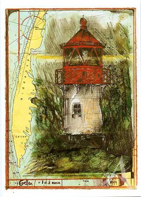 "Postkarte ""Gellen, Hiddensee"""