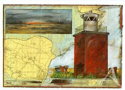 "Postkarte ""Föhr - Land"""