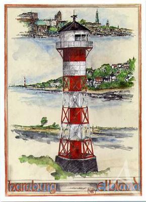 "Postkarte ""Hamburg Elbland"""