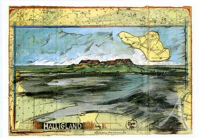 """Postkarte """"Halligland"""""""