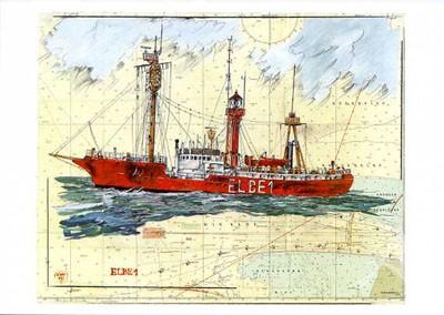 "Postkarte ""Elbe I"""