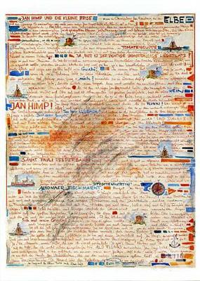 """Postkarte """"Jan Himp und die kleine Brise"""""""