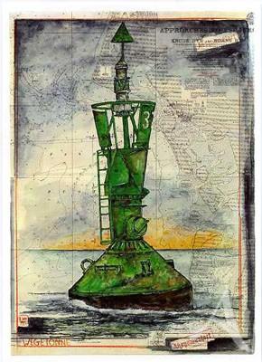 """Postkarte """"Wegetonne 37"""""""