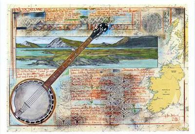 "Postkarte ""Song for Ireland"""