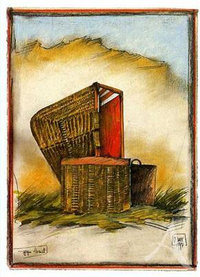 "Postkarte ""...gegen Abend"""
