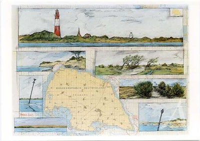 "Postkarte ""Fehmarn - Land"""