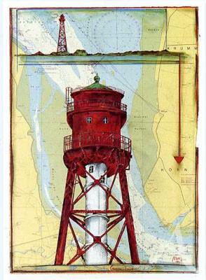 "Postkarte ""Campen - Land"""
