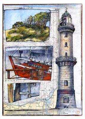 "Postkarte ""Warnemünde"""