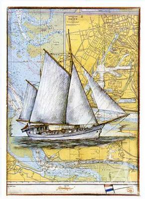 """Postkarte """"Groningen"""""""