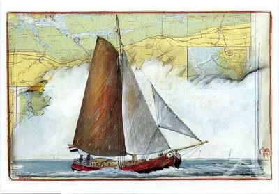 "Postkarte ""Wattenweg"""