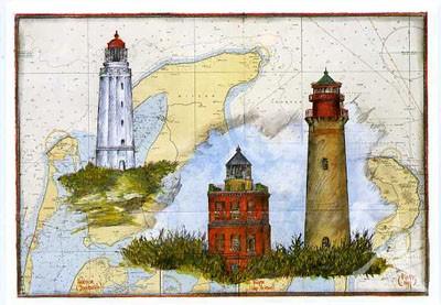 """Postkarte """"Dornbusch & Kap Arkona"""""""
