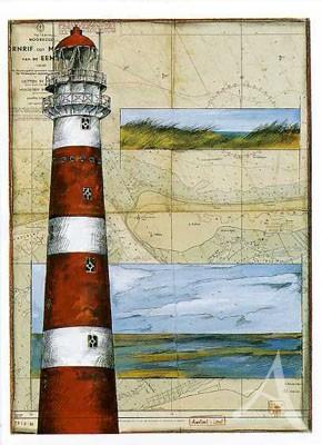 "Postkarte ""Ameland - Land"""