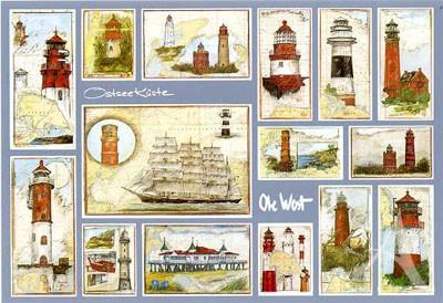 "Postkarte ""Ostseeküste"""