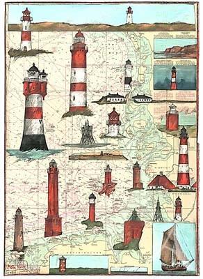 "Postkarte ""Moin Küste"""