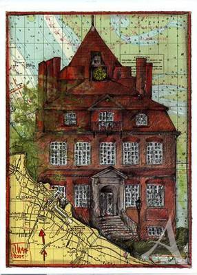 """Postkarte """"Schloß Ritzebüttel, Cuxhaven"""""""