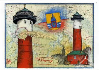 "Postkarte ""Ja, Wangerooge"""